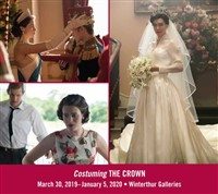 Costuming THE CROWN exhibit & Meal at the DuPont