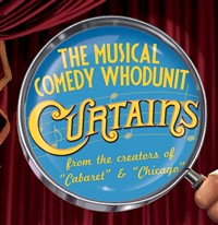 """""""Curtains"""" at the Candlelight Dinner Theatre"""