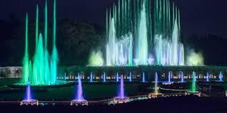 2020244 Longwood Grand Illumination Fountain show