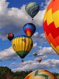 2019077 Balloons Over Vermont